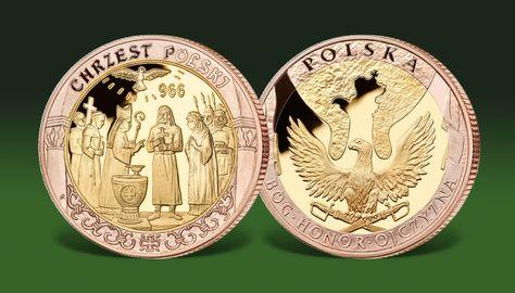 Kolekcja Bog Honor Ojczyzna Dzieje Narodu Polskiego Medale Okolicznosciowe Monet Personalized Items Items