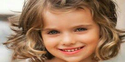 قصات شعر اطفال بنات كاريه فرنسي