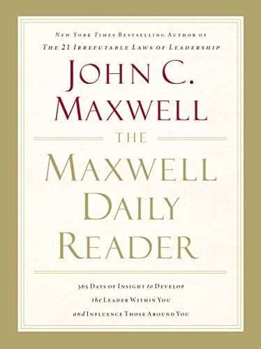 Download Pdf The Maxwell Daily Reader By John Maxwell In 2020