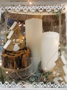 Acquisto Decorazioni Natalizie.Idee Vetrine Natale Shop Guerrini Vetrine Natalizie Cera Vetrine