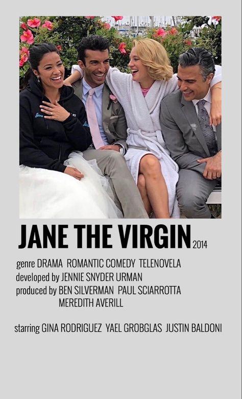 minimalistic tv poster - jane the virgin
