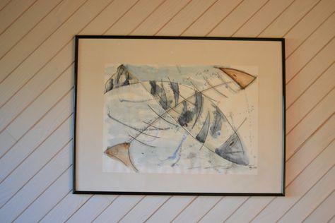 aquarelle nommée : assiette de poisson 114 a retrouver ici : http://www.alittlemarket.com/boutique/kreion_bev-2441607.html