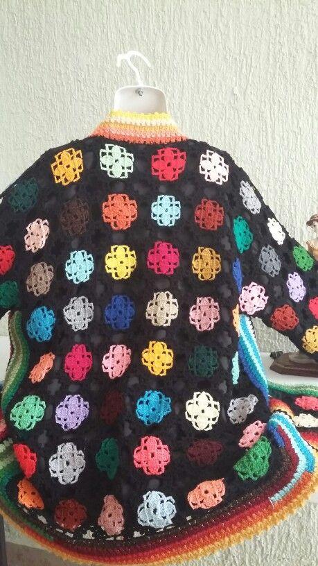 Sueter de crochet
