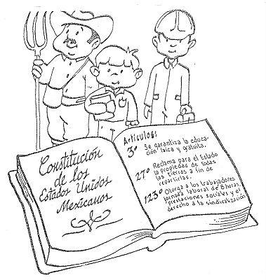 La Constitucion Es La Ley Mas Importante De Una Nacion Es Un Documento Legal Constitucion Mexicana Para Ninos Constitucion Mexicana La Constitucion De Mexico