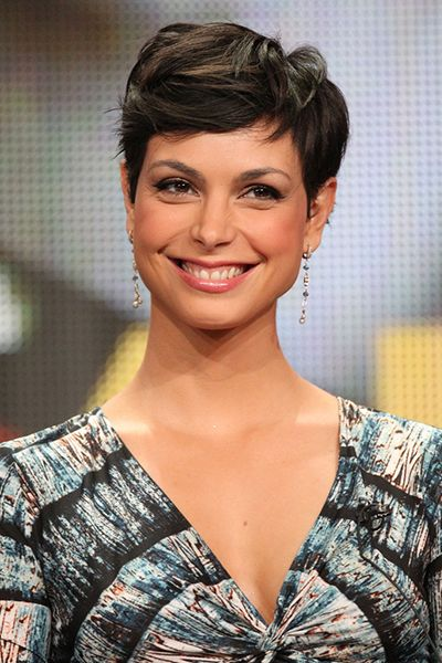 Morena Baccarin Best Images With Short Hair Pretty Celebrity In 2020 Short Hair Styles Morena Baccarin Prettiest Celebrities