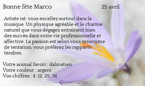 Marc Antoine Prenom Recherche Google Avec Images Carte Bonne Fete Bonne Fete Fete