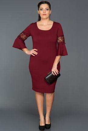 Bordo Dekoltesiz Buyuk Beden Abiye Abk074 Kadin Kiyafetleri Elbise Modelleri Kiyafet