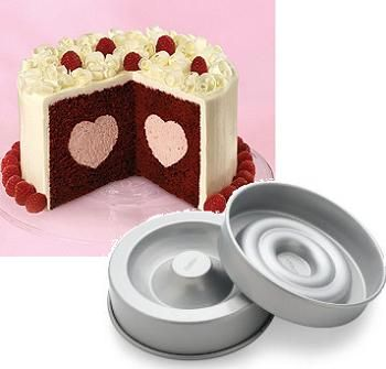 Wilton Heart Tasty Fill Cake Set With Images Novelty Cake Pans