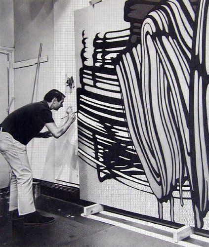 #OPENSTUDIOS - Roy Lichtenstein al lavoro nel suo studio