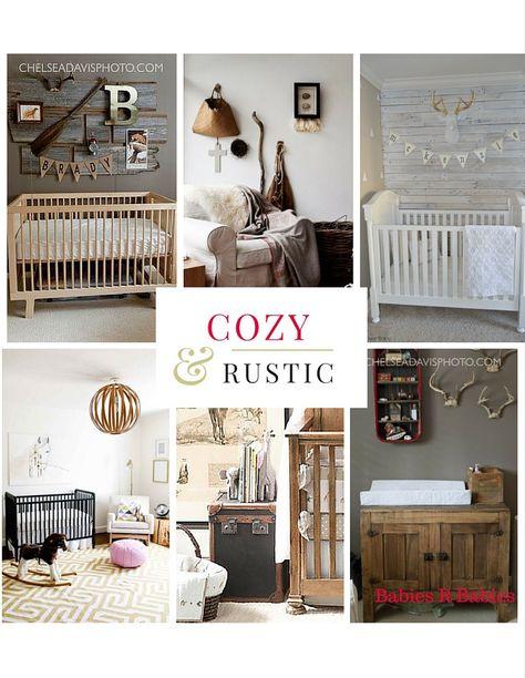 Beautiful Neutral Baby Nursery Designs # Rustic #Cozy
