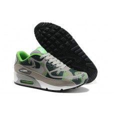 delicate colors best quality sale retailer Sneakers Nike Air Max 90 Premium Tape Camo Dark Argent Vert Neon ...