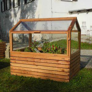 Hochbeet 180x120 Mit Treibhaus Kombiniert Hochbeet Garten Hochbeet Und Fruhbeetaufsatz