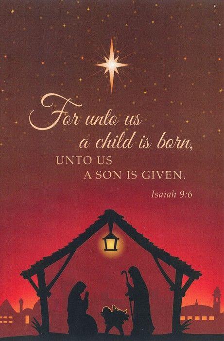For unto Us a Child Is Born (Nativity),