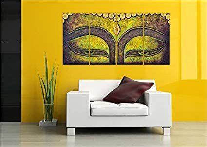 Living Room Furniture Vastu Inspirational Buy Printelligent Design Lord Buddha Vastu Wall Painting 4 Frames