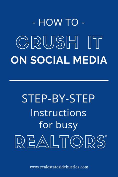 How to Create a Real Estate Agent Social Media Calendar