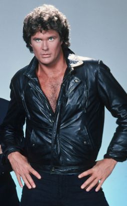 David Hasselhoff As Michael Knight In Knight Rider Knight Rider