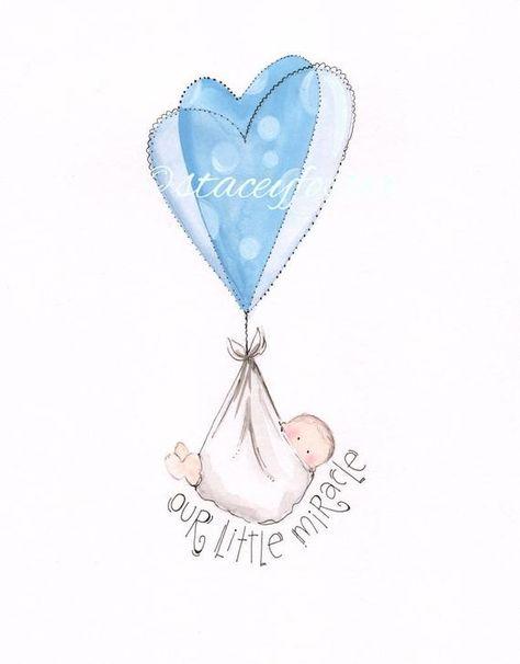 Adoption gifts Adoption art Miracle baby Art Newborn   Etsy