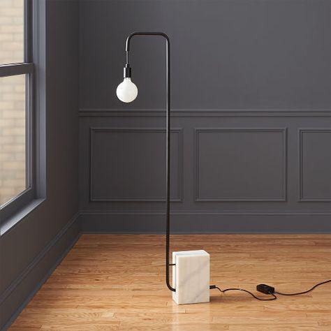 Modern Floor Lamps   CB2 (With images)   Floor lamp bedroom