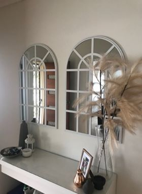 New Look Mirrors For A Fraction Of The Price Of Designer Pieces Arch Mirror Condo Living Room Decor
