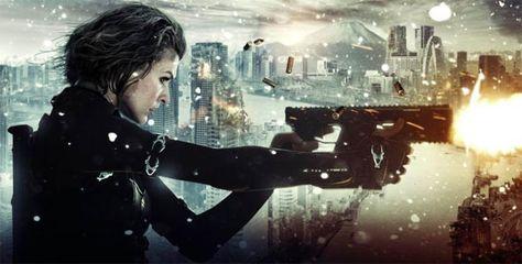 Trailer Dublado De Resident Evil Retribuicao Resident Evil Movie