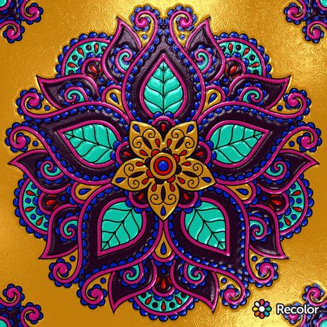 Hermosas Mandalas Mandalas Mandalas Bonitas Mandalas Arte