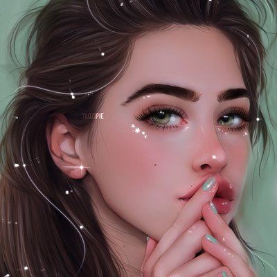 Artstation Olivia Derivas Digital Art Girl Beautiful Girl