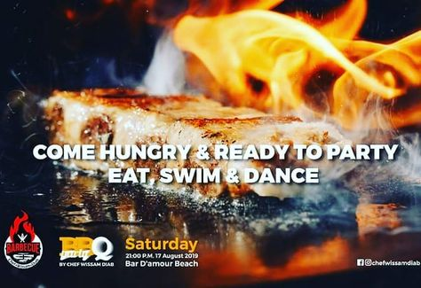 Join us for our BBQ party @bar d'amour beach Saturday August 17th 9pm The grill is hot    and the drinks are cool  #bbqarty #lebaneseevents #damour #chef_wissam_diab #lebanesecanparty #beirutnightlife #lebanon #nightlife #beachparty #saturday #beirutparty #sumerparty #lovelebanon #beirutlove #lebanonbbq @chateaudemerweddings @bardamour.beach #lebanonresorts #dancelebanon #بيروت #livelovelebanon #bbqlovers #lebanonbbq #whatsuplebanon #swimming #leblonbeach