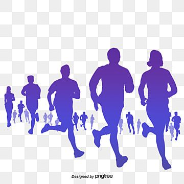 People Running Everyone Run Race Png Transparent Clipart Image And Psd File For Free Download In 2021 Science Icons People Running Cartoon Posters