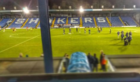 I keep coming here more in hope than expectation. Maybe one day I'll see #buryfc score again.