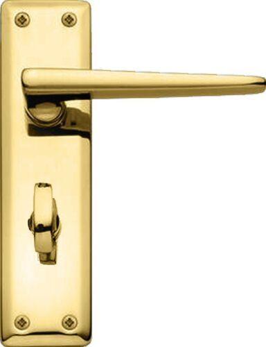 Howdens Bertelli Lugano Door Handles Polished Brass Premium Italian Quality Door Handles Polished Brass Brass Door Handles