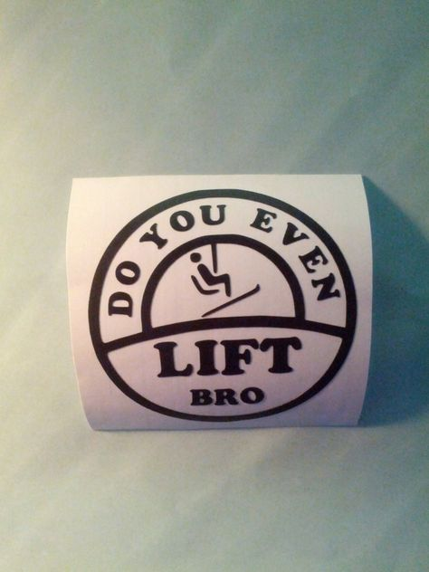 -5280:    stikr4u:    Do you even lift bro?!  Our winter-themed stickers are perfect for those who enjoy the snow!  Check it out, www.stikr4u.bigc...