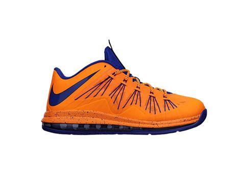 Buty do koszykówki - Nike Air Max Lebron X Low  http://www.bestsport.com.pl/produkt,Nike-Air-Max-Lebron-X-Low,579765800,2347  Rozmiary: 43, 44, 45,5; 48,5  Marka:Nike Symbol:579765800 Płeć:Mężczyzna Dyscyplina:Koszykówka Kolekcja:Lebron James   Kolor : Pomarańczowy   Cholewka : Syntetyk System FlyWire   Wysokość : Low   Systemy : Max Air na całej długości     Charakterystyka : Maksymalna stabilizacja śródstopia Maksymalna amortyzacja Komfort Stylistyka  #buty #obuwie #sport #koszykówka #nike