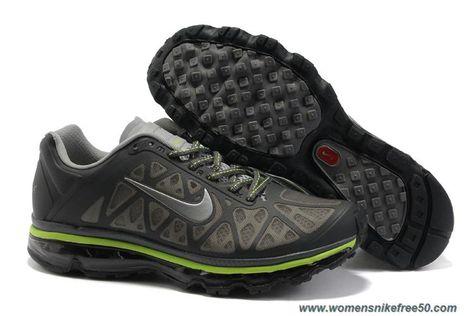 e0805e3a4d Nike Air Max 2011 431873-009 Mens Dark Grey Metallic Silver Wolf Volt Outlet