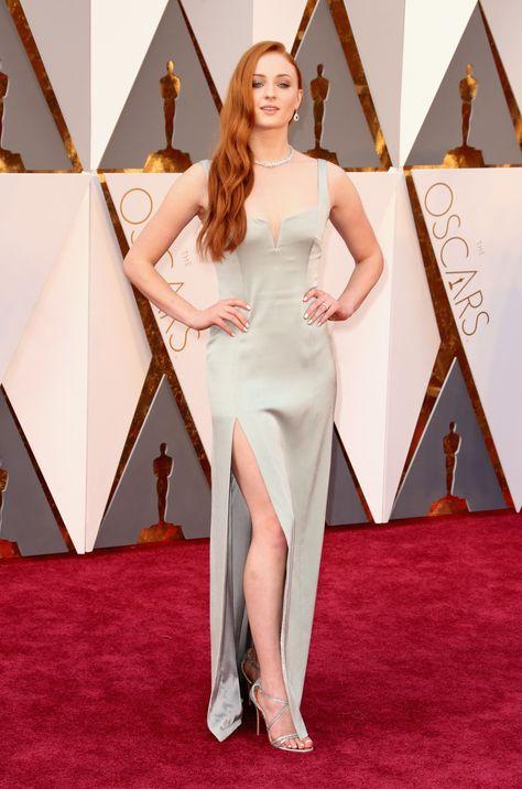 Sophie Turner aux Oscars 2016