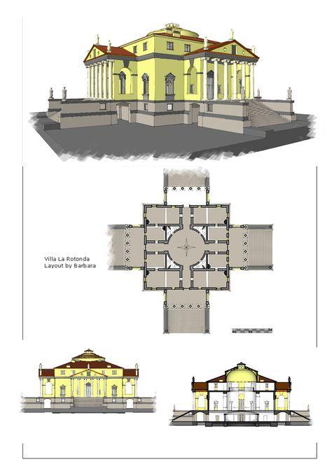 Images Villa La Rotonda Townhouse Exterior Architecture Andrea Palladio