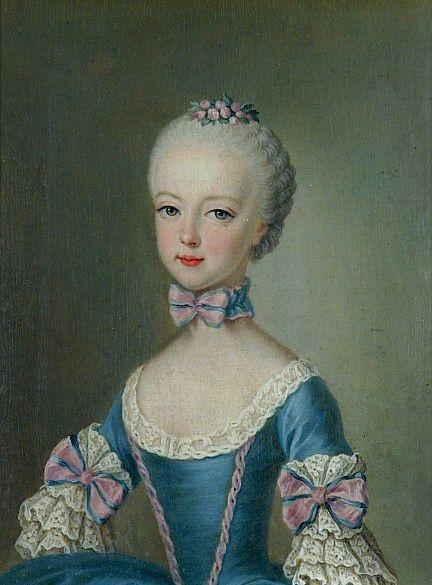 Portraits de Marie-Antoinette, enfant   Portrait de mariée, Marie antoinette,  Marie thérèse d autriche