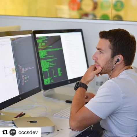 #Repost @occsdev such an awesome in progress coding shot!  Now accepting applications for our November cohort! Apply today! #LearnToCode #JavaScript #orangecounty #codingbootcamp #web #dev #AngularJS #React #MongoDB #GitHub #coding #frontend #backend #software #developer #programming #git #oc #codeschool #allcodeallday