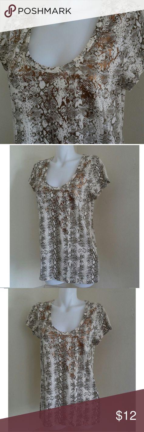 bronze calvin klein t shirt