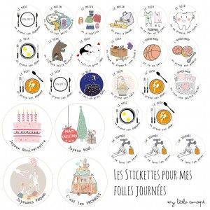 des Horloges Pas si B/êtes My Little Concept Une Horloge 24 Heures pour Aider Les Enfants /à Se rep/érer dans Le Temps