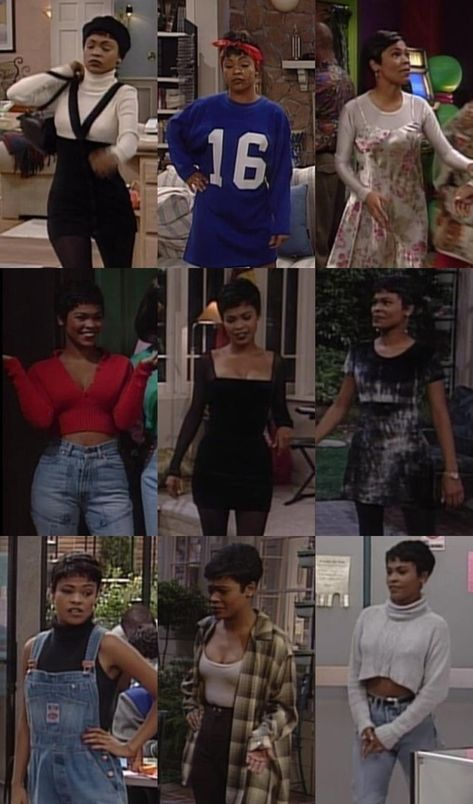 Fashion nia long and t Fashion Fashion image Long nia tłᒪᒪeᖇᗯłᖴe Black 90s Fashion, Girls Winter Fashion, 90s Fashion Grunge, Fall Fashion Outfits, Mode Outfits, Curvy Fashion, Look Fashion, Fashion Models, Girl Outfits