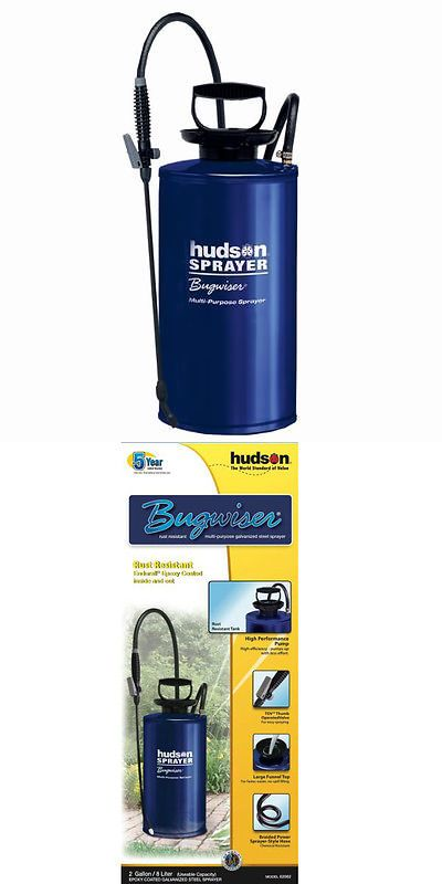 Garden Sprayers 178984 Hudson 62062 Bugwiser Galvanized Steel Sprayer 2 Gallon Buy It Now Only 48 43 On Ebay Sprayers Galvanized Steel Hudson