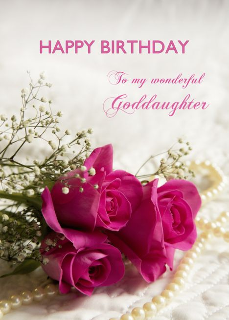100+ Best Happy Birthday Wishes for Goddaughter of 2021