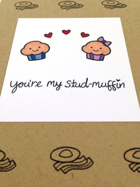 Funny Boyfriend Card Boyfriend Anniversary Card by MyPrettyPaper