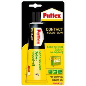 Pattex 1563698 Colle Forte Contact Sans Solvant Blister 65 G