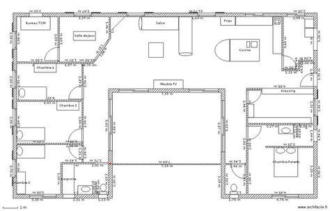 Container House - Maison en U avec patio - Who Else Wants Simple - plan maison en forme de u