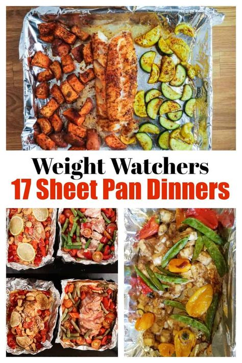 easy healthy sheet pan meals for weight watchers recipes easy recipes flat belly recipes lose weight meals recipes low calorie recipes vegetarian diet recipes Weight Watcher Dinners, Plats Weight Watchers, Weight Watchers Meal Plans, Weight Watchers Diet, Weight Loss Meals, Weight Watcher Vegetable Recipes, Weight Watcher Recipes, Weight Warchers, Weight Watchers Vegetarian