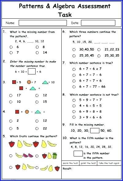 25 Year 7 Algebra Worksheets Line Math Worksheets For Grade 7 Envision Games Year 5 Maths Algebra Worksheets Math Worksheets Math Worksheet