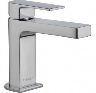 Peerless P1519lf Lpu Chrome Xander 1 Gpm Single Hole Bathroom Faucet Lifetime Limited Warranty Faucet Com Single Handle Bathroom Faucet Bathroom Faucets Chrome Bathroom Faucets