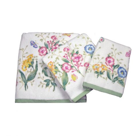 Lenox Butterfly Meadow Bath Towel Collection Lenox Butterfly
