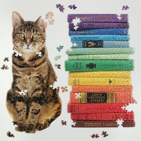 Queen of the Stacks Set of Two Jigsaw Puzzle Set